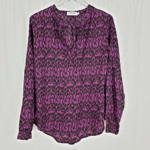 Velvet by Graham & Spencer Ikat Blouse